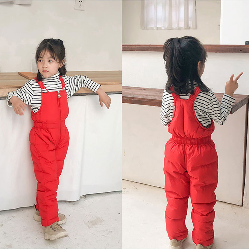 G-real Fashion Toddler Little Girls Boys Solid Denim Strap Overalls Jeans One Piece Jumpsuit Pocket Pants
