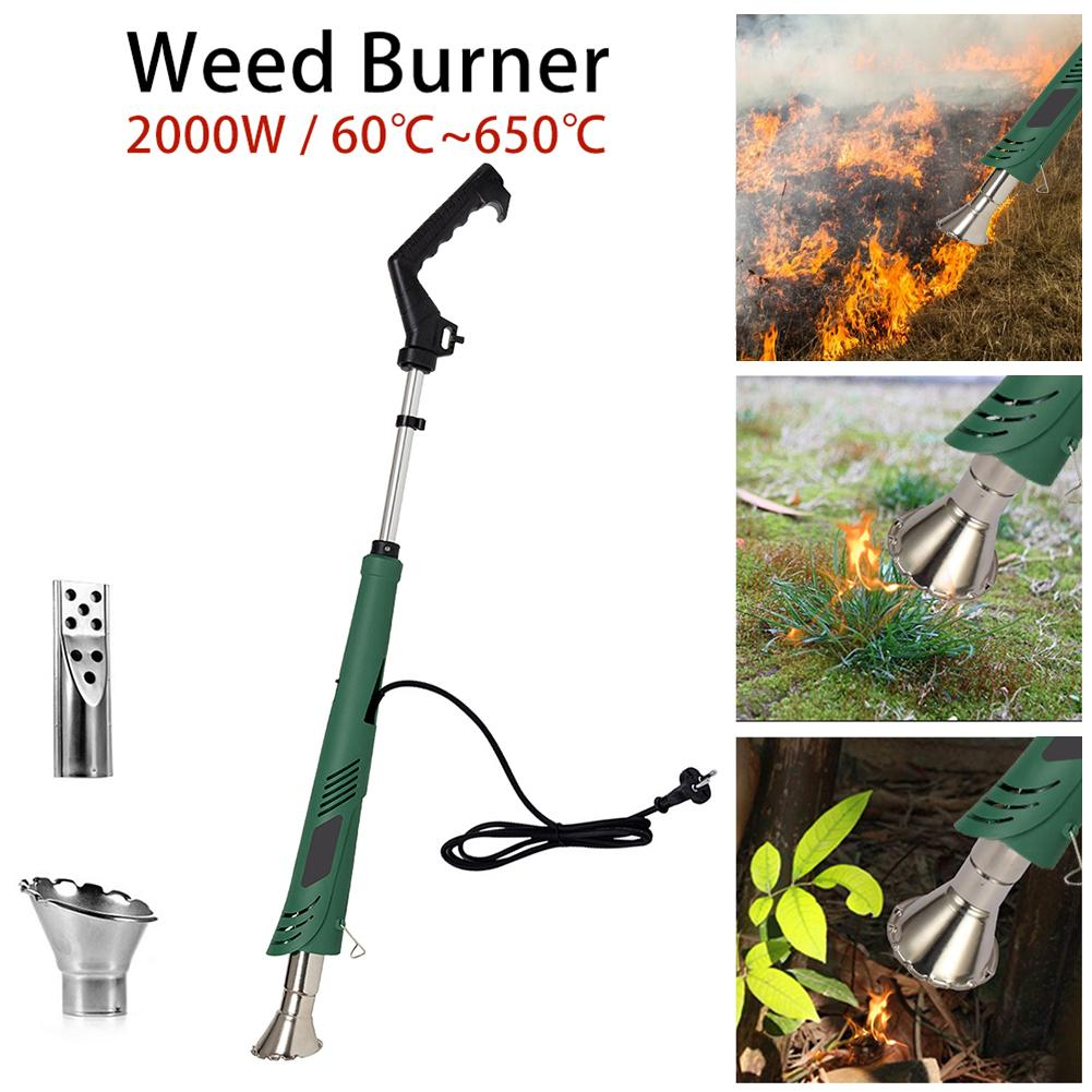 Electric Weed Burner Barbecue Igniter Garden Tools Lawn Mower Flameless Environmental Protection And Temperature Optional