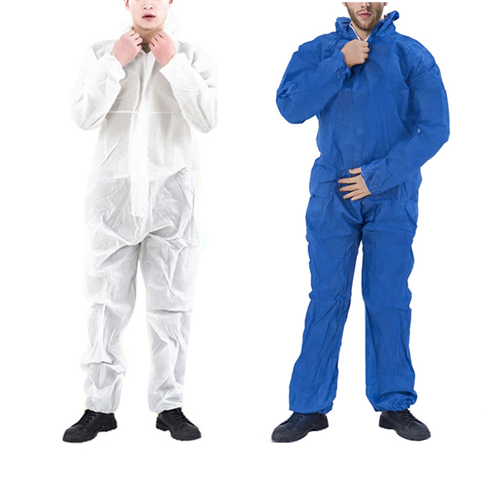 Reusable and Full Body Coverall Medical Protective Clothing for Protection from Viruses and Bacteria