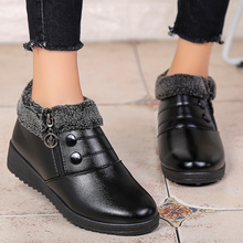 Women Boots Winter Shoes Lightweight Ankle-Botas Waterproof Casual Fashion for Mujer