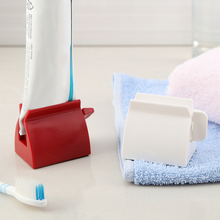 New Toothpaste Dispenser Tube Squeezer Tooth Paste Squeezer Facial Cleanser Press Rolling Holder Bathroom Accessories for Kids