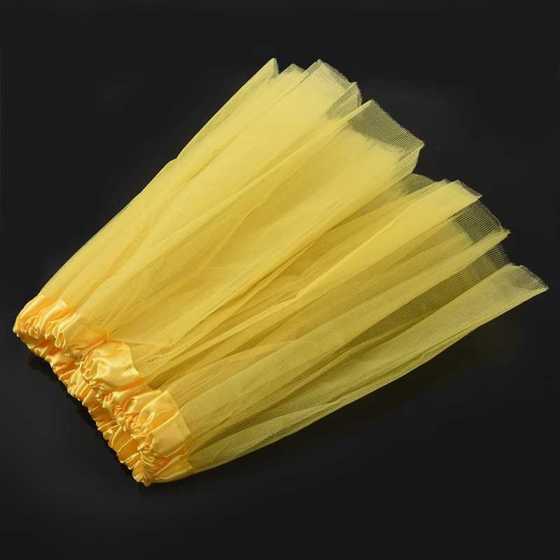 ילדים בנות מודרני בלט הלבשה פיות טוטו חצאית צהוב