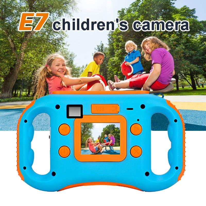 Ephex Mini 720P Enfants 1.8 ''LCD 5.0MP Numérique Caméra Pour Enfants Dessin Animé Cam Photographie Mini Enfant Portatif D'appareil-Photo Enfants HD