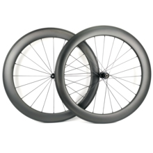 Road-Bike Carbon-Wheels 700C Clincher/tubular UD Depth 60mm 25mm-Width Matte-Finish High-Quality
