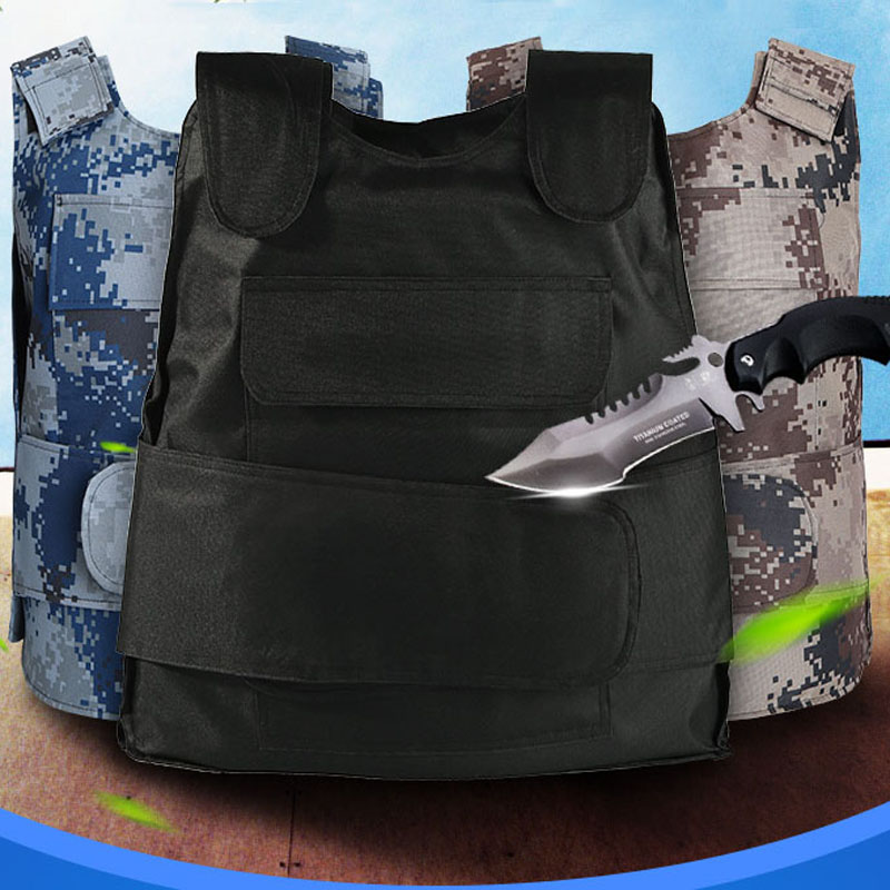 Stable-proof Vest Vest Summer Breathable Ultra-thin Invisible Soft Anti-cut Clothing Body Armor