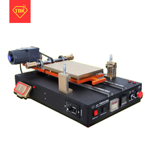 TBK-958D Automatic Vacuum LCD Separator Machine Built-in Vacuum Pump For Tablet Cellphone LCD Screen Repair Refurbished 2 in 1 automatic vacuum laminating machine bubble remover machine built in pump and air compressor with automatic lock