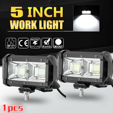 5-Inch Brand New And High Quality Spotlight LED Work Light Bar Driving Fog For SUV 4WD Offroad Car Truck