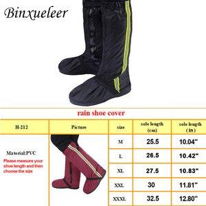 Image 5 - Unisex floresan yağmur ayakkabı koruyucu çizmeler yeniden yağmur kılıfı için ayakkabı su geçirmez motosiklet yağmur ayakkabı koruyucu kaymaz çizmeler