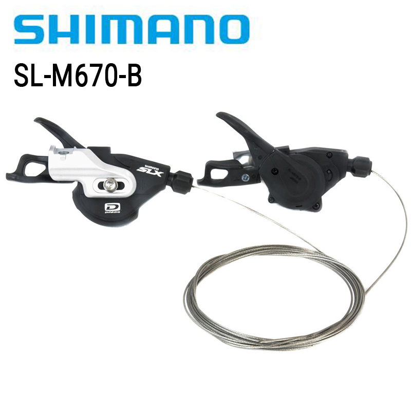 Right Hand 10 Speed Shimano Deore XT M780  Rapid Fire Pod Clamp