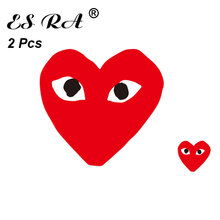 2 Pcs Mix Size Funny Stickers Vinyl Decal Logo Brand Pegatinas Red Expression  for Window Laptop Pitcher Guitar Skatebboard
