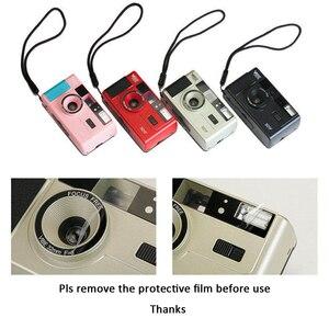 Image 4 - Vibe בציר רטרו 501F 35mm לשימוש חוזר שאינו חד פעמי סרט מצלמה שחור/אדום/שמפניה כסף/ורוד עם קודאק UltraMax 400 סרט