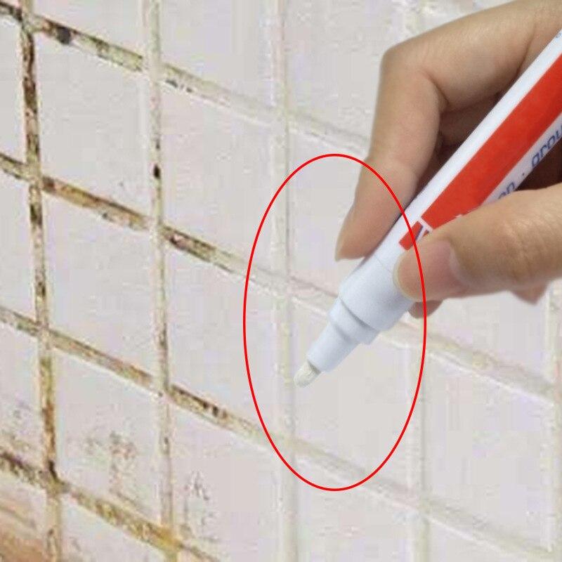 home tile grout pen water resistant kitchen instant tile repair anti mould professional 7 color grout marker