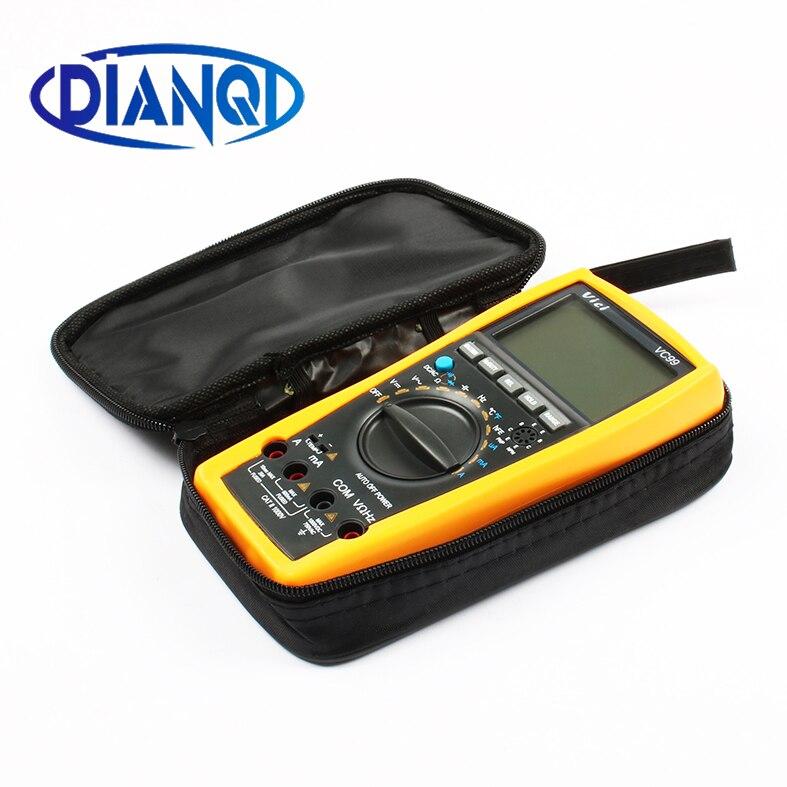 Original vichy vc99 3 6/7 multímetro digital gama automática tem saco venda quente melhor 17b + medidor amarelo com duas sondas