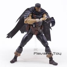 Figma 359 Berserk Guts Black Swordsman PVC Action Figure Joint Movable Figurien Model Toy