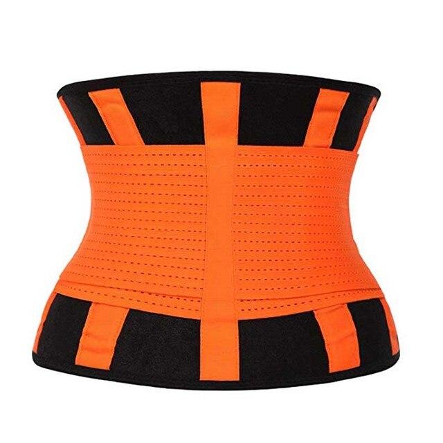 2019 New Adjustable Waist Support Belt Women And Men Waist Trimmer Belt Gym Train Waist Protector Fitness Belt 3