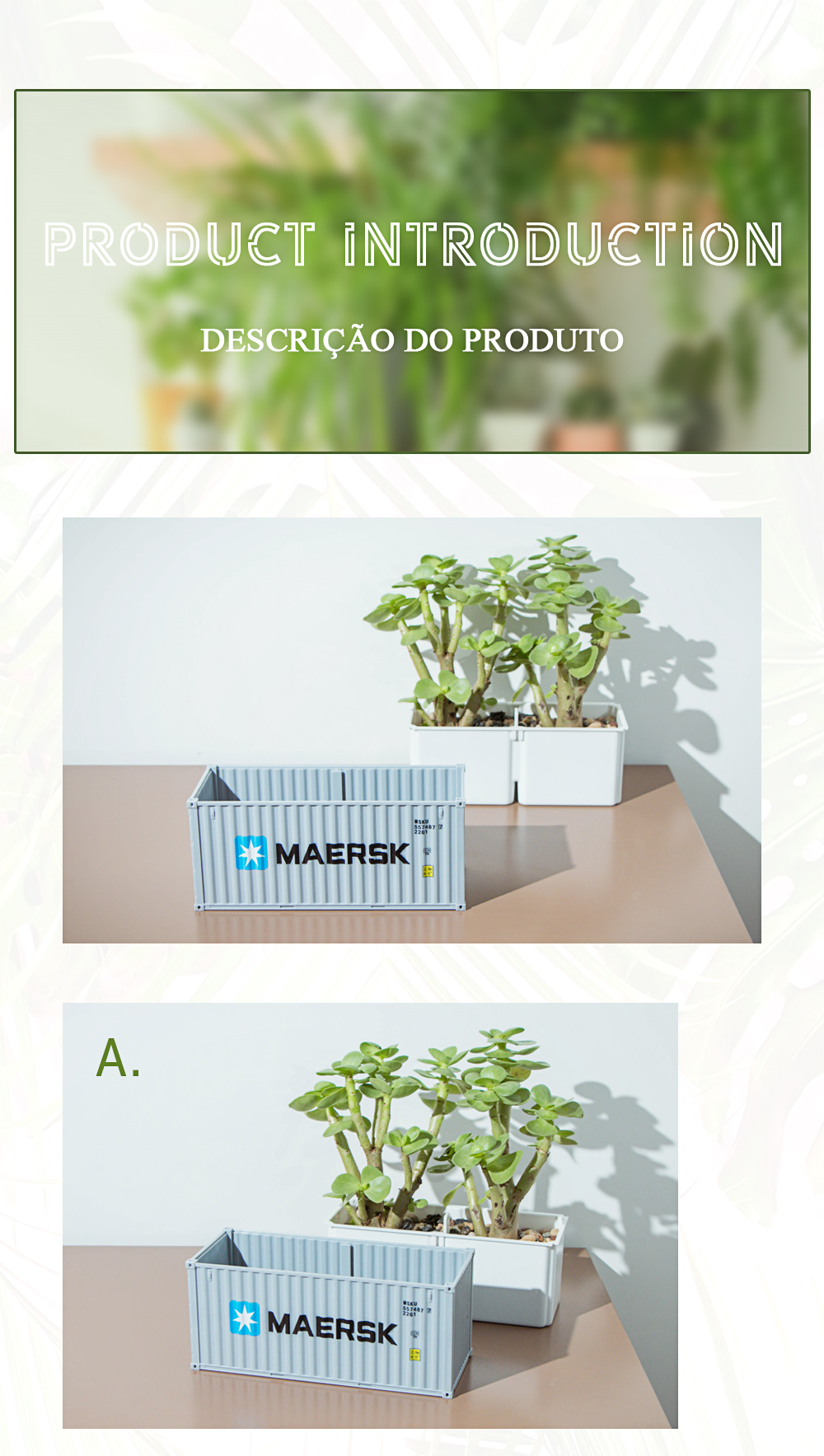 de armazenamento jardim vaso de flores micro