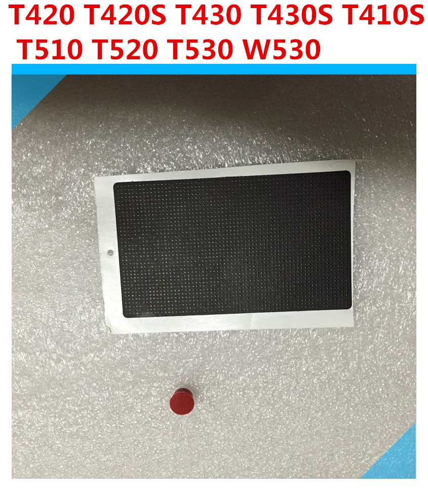 1PCS OEM Laptop For ThinkPad T410 T420 T430 T410S T420S T430S T530 T510 T520 W510 W520 W530 Touchpad Stickers