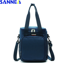 SANNE 9L New Design Thermal Bag Insulated Coole Frosted fabric Portable Multifunction Thermo Waterproof