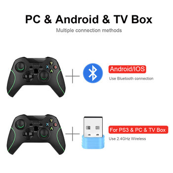 Wireless Gamepad For PS3/IOS/Android Phone/PC/TV Box Joystick 2.4G Joypad Game Controller For Xiaomi Smart Phone  Accessories 3