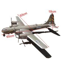1:47 DIY 3D Paper Model Kit Toy B-29 Super Fortress Handmade Paper Paper Toy Airplane For Decoration Craft Bomber For Kids