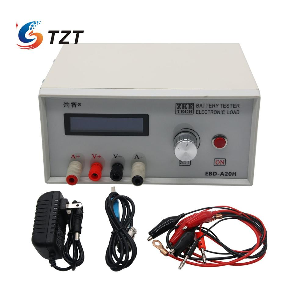 TZT EBD-A20H Electronic Load, Battery Capacity Tester, Power Supply Test, Model Power Battery Discharge AC