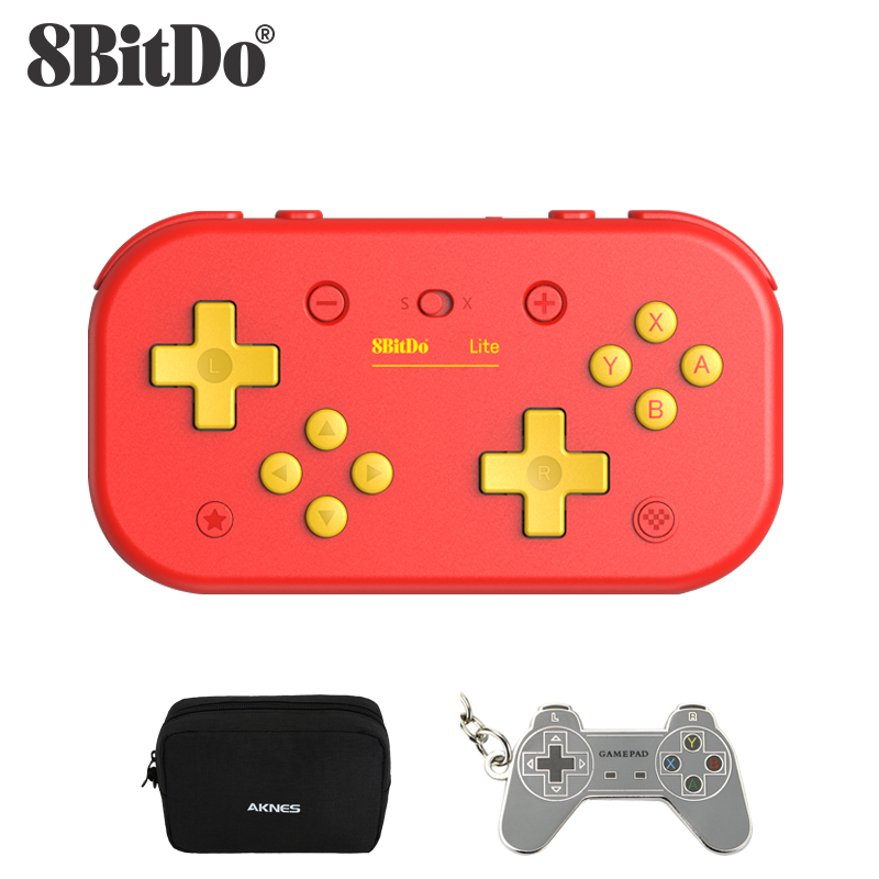 8BitDo Lite Wireless Bluetooth Controller for Nintendo Switch Lite, Nintendo Switch, and Windows - China Red Edition