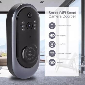 Wi-Fi Enabled Smart Video Doorbell Tuya Smart Life APP Remote Control WiFi Door Bell Wireless Camera FHD 1080P Alexa 1