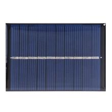 DIY 0.6W 5V 120mA Solar Cell Polycrystalline Solar Panel Module Battery Charger for Courtyard Small Households Lamp Lighting