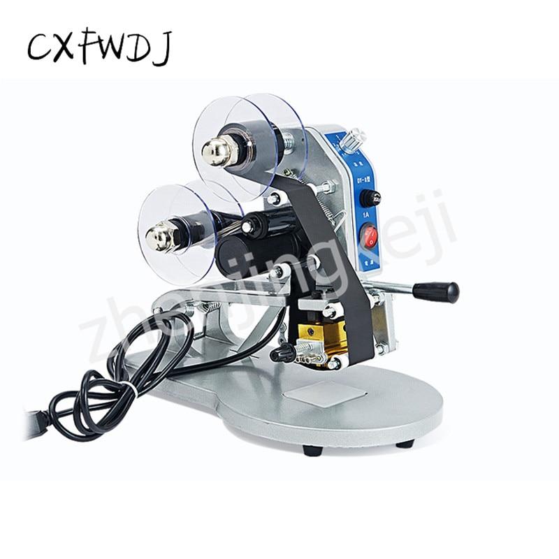 CXFWDJ Ribbon Coding Machine Manual Production Date Printer Stamping Machine Direct Thermal Code Reader Coding Machine