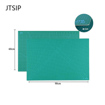 цена на JTSI A1/A2/A3/A4 PVC Cutting Mat Durable Self healing Cut Pad Double sided Carving Board High Quality Rubber Knife Cutting Pads