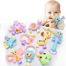 6 шт 10 шт/компл игрушки Монтессори для прорезывания зубов детская