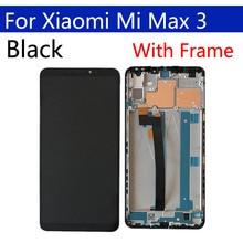 """6.9 """"Originele Display Voor Xiaomi Max 3 LCD Touch Screen Digitizer Met Frame Vervanging Voor Xiaomi Max3 Beeldscherm"""