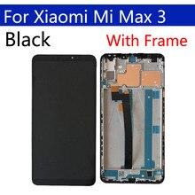 """6.9 """"oryginalny wyświetlacz dla xiaomi max 3 LCD z ekranem dotykowym Digitizer z ramką zamiennik dla xiaomi max 3 ekran do montażu"""