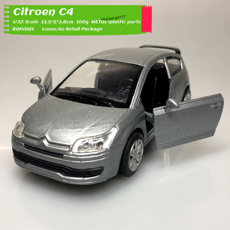 NEWRAY 1/32 Scale Car Model Toys Citroen C4 Coupe Diecast Metal Car Model Toy For Kids,Collection,Decoration,Gift