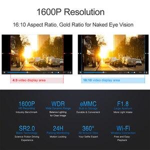 Image 5 - מקורי DDPai Mini3 DVR מצלמת דאש מצלמה 32GB אנגלית eMMC 1600P HD הקלטה 24H חניה צג הגלובלי גרסה