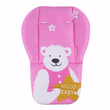 Baby Stroller Seat Cushion Pushchair High Chair Pram Car Colorful Soft Mattresses Carriages Seat Pad Stroller Mat Accessories(China)