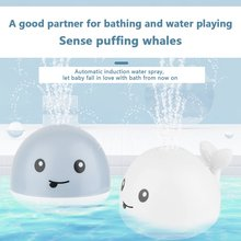 New 2020 Hot Kids Baby Cute Cartoon Whale Floating Spraying Water Bath Toys Spout Spray Shower Bathing Swimming Bathroom Toy cheap CN(Origin) Maternity 0-6m 7-12m 13-24m 25-36m 4-6y 7-12y 12+y Plastic 1 x Whale Bath Toy Type YE126300 None Water Spraying Tool