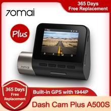 70mai – caméra de tableau de bord Pro Plus A500 1944P, DVR A500S, GPS intégré, caméra avant et arrière, contrôle par application, enregistreur vidéo de voiture en temps réel