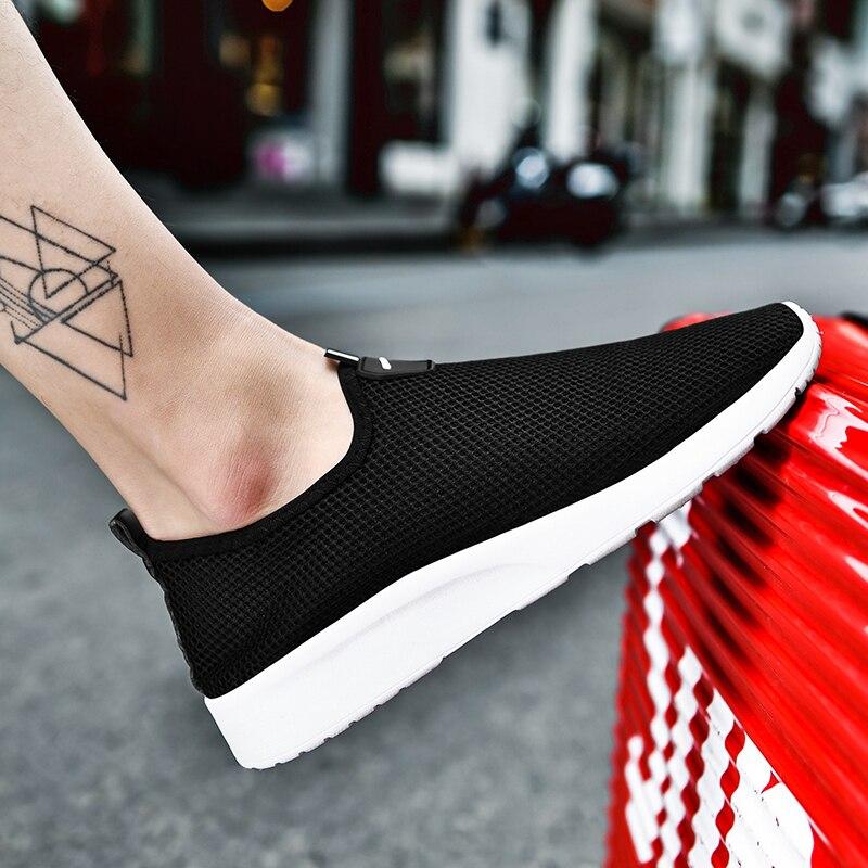 Men's Shoes Summer 2020 New Trend Light Mesh Casual Shoes For Men Fashion Sneaker Breathable Zapatos De Hombre Women Casual Shoe