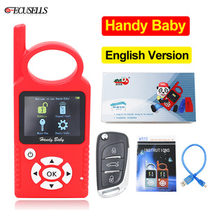 Image 1 - V9.0.5 Handy Baby Can Generate Remote Auto Key Programmer for 4D/46/48/G/King Chips English Version G/96 bit 48 Funciton