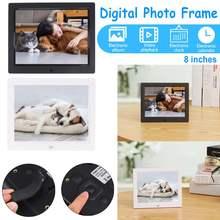 8 дюймов TFT Дисплей HD 1024x600 полный Функция цифровая фоторамка электронный альбом Цифровой Фото Музыка Видео часов воспроизведения