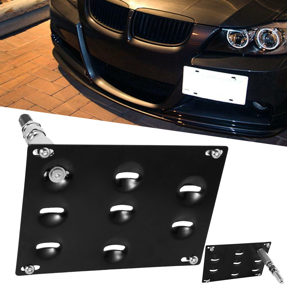 פגוש Tow רישיון צלחת מסגרת הר Bracket מחזיק עבור BMW E39 E46 E90 X5 X6 328i 528i