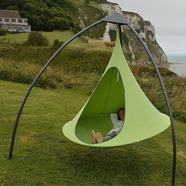 Camping Tree Teepee Cocoon Swinging Hammock  3