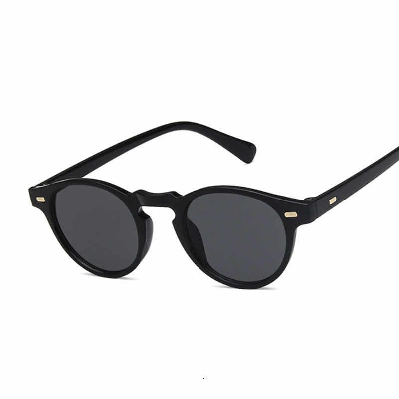 แฟชั่น 2019 รูปไข่ขนาดเล็กแว่นตากันแดดCLEARคลาสสิกUV400 แว่นตากันแดดแนวโน้มหญิงโปร่งใสสำหรับผู้หญิง