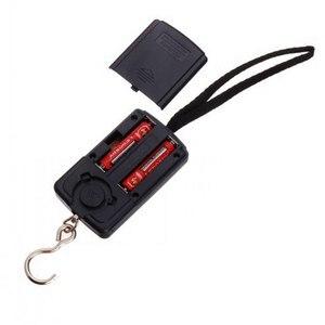 Image 5 - Цифровые весы для багажа, 40 кг х 10 г, электронные весы подвесного крючка для рыбалки, путешествий, кухни
