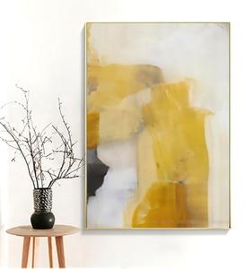 Image 4 - Laminas decorativas pared cuadros duvar sanatı tuval Vintage boyama pinturas decorativas abstracto boyama oturma odası için büyük