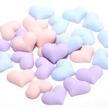 Craft-Supplies Patch-Arts-Ornaments Flatback Planar Resin Diy Heart Hair-Accessories