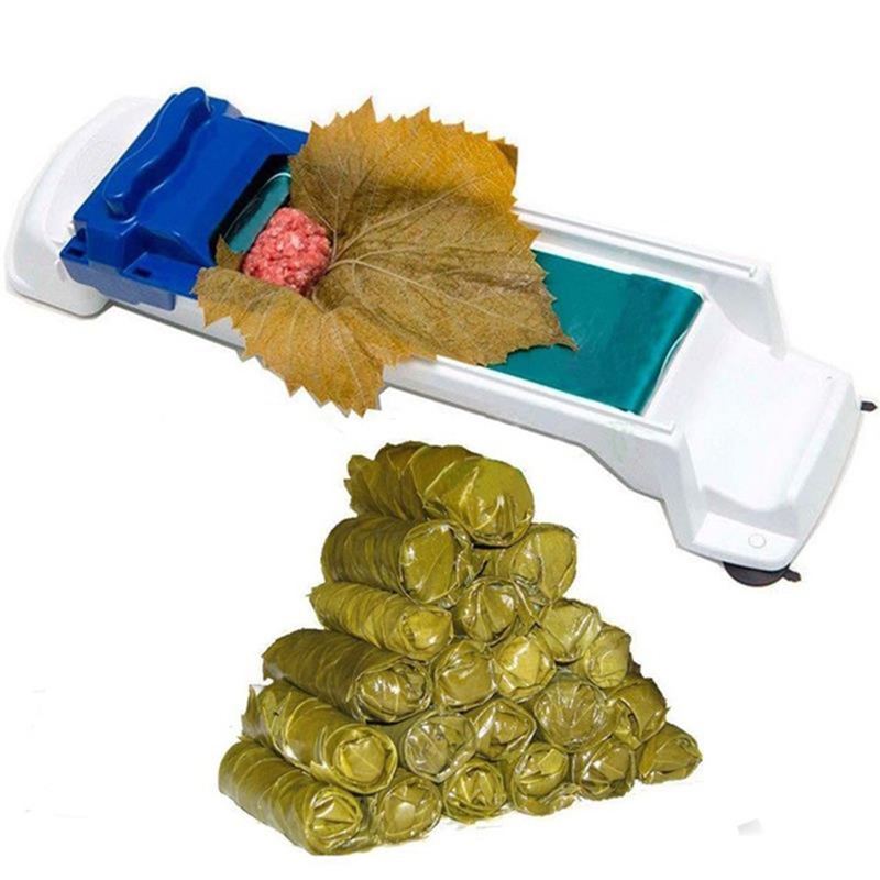 Quick sushi making tools New Vegetable Meat Rolling Tool Magic Roller Stuffed Garpe Cabbage Leave Grape Leaf Machine