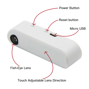 Image 1 - LILYGO®TTGO T מצלמה מיני מצלמה מודול ESP32 שבב 4MB פלאש 8MB PSRAM מיקרו USB מגע מתכוונן דגים עין עדשת כיוון