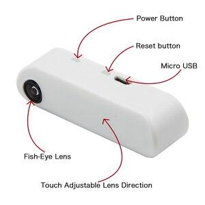 Image 1 - LILYGO®TTGO T Kamera Mini Kamera Modul ESP32 Chip 4MB flash 8MB PSRAM Micro USB Touch Einstellbar Fisch Eye Objektiv Richtung